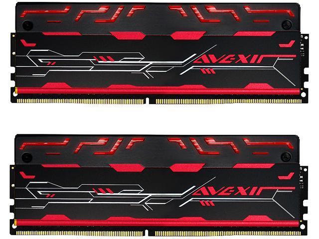 Avexir Blitz1.1 16GB (2 x 8GB) 288-Pin DDR4 SDRAM DDR4 3000 (PC4 24000) Memory (Desktop Memory) Model AVD4UZ130001608G-2BZ1RR