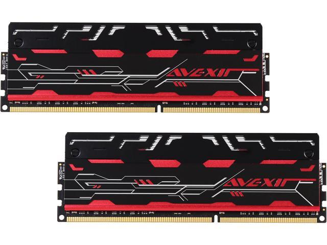 Avexir Blitz1.1 8GB (2 x 4GB) 240-Pin DDR3 SDRAM DDR3 1600 (PC3 12800) Memory (Desktop Memory) Model AVD3U16001104G-2BZ1GBG1G