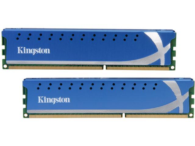 HyperX 4GB (2 x 2GB) 240-Pin DDR3 SDRAM DDR3 1600 (PC3 12800) Desktop Memory Model KHX1600C9D3K2/4GX