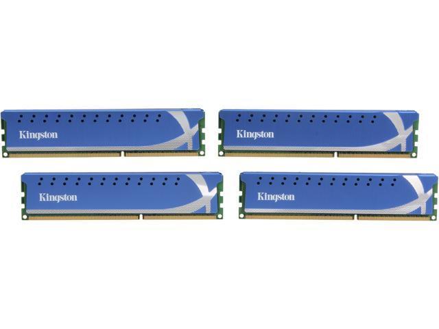 HyperX HyperX 8GB (4 x 2GB) 240-Pin DDR3 SDRAM DDR3 1600 (PC3 12800) Desktop Memory Model KHX1600C9D3K4/8GX