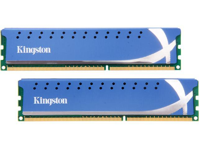 HyperX HyperX 8GB (2 x 4GB) 240-Pin DDR3 SDRAM DDR3 1600 Desktop Memory Model KHX1600C9D3K2/8G