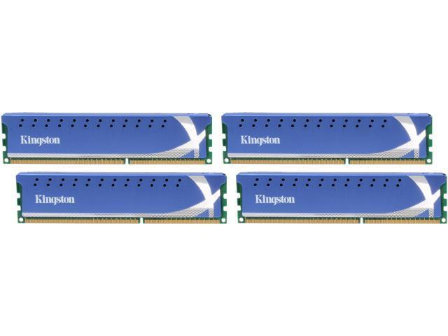 HyperX 8GB (4 x 2GB) 240-Pin DDR3 SDRAM DDR3 2400 Desktop Memory Model KHX2400C11D3K4/8GX