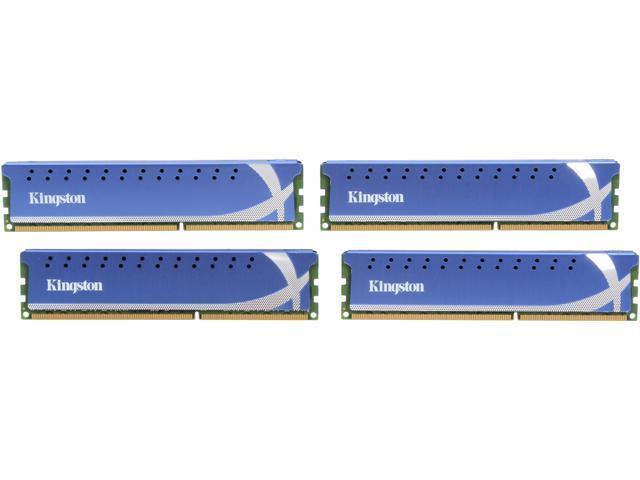 HyperX HyperX 16GB (4 x 4GB) 240-Pin DDR3 SDRAM DDR3 1866 Desktop Memory Model KHX1866C9D3K4/16GX