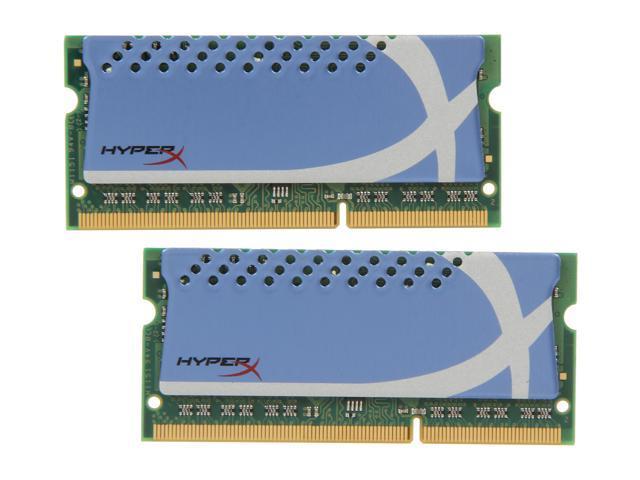 HyperX 4GB (2 x 2GB) 204-Pin DDR3 SO-DIMM DDR3 1600 (PC3 12800) Laptop Memory Model KHX16S9K2/4XR