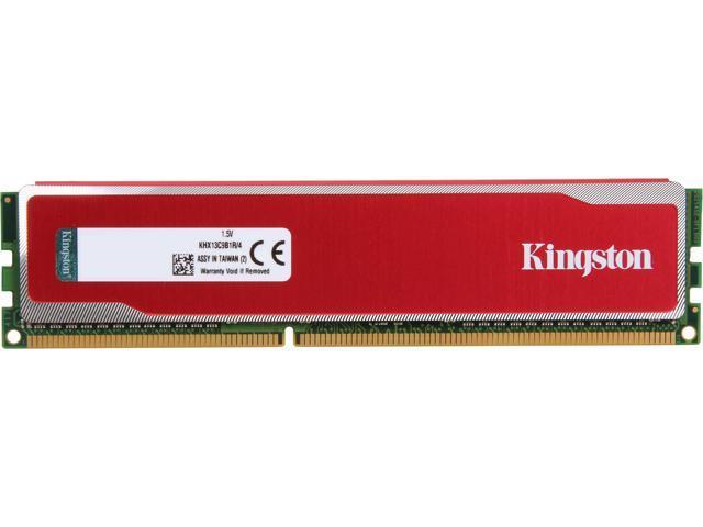 HyperX Blu Red Series 4GB 240-Pin DDR3 SDRAM DDR3 1333 Desktop Memory Model KHX13C9B1R/4