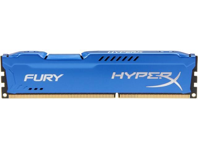 HyperX FURY 4GB 240-Pin DDR3 SDRAM DDR3 1600 (PC3 12800) Desktop Memory Model HX316C10F/4