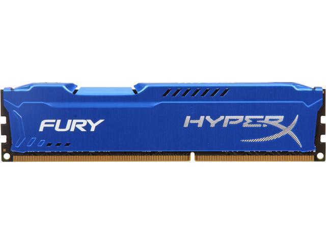 HyperX FURY 8GB 240-Pin DDR3 SDRAM DDR3 1866 Desktop Memory Model HX318C10F/8