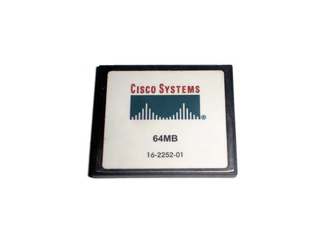 Cisco 64MB Compact Flash (CF) Flash Card Model MEM1800-64CF=
