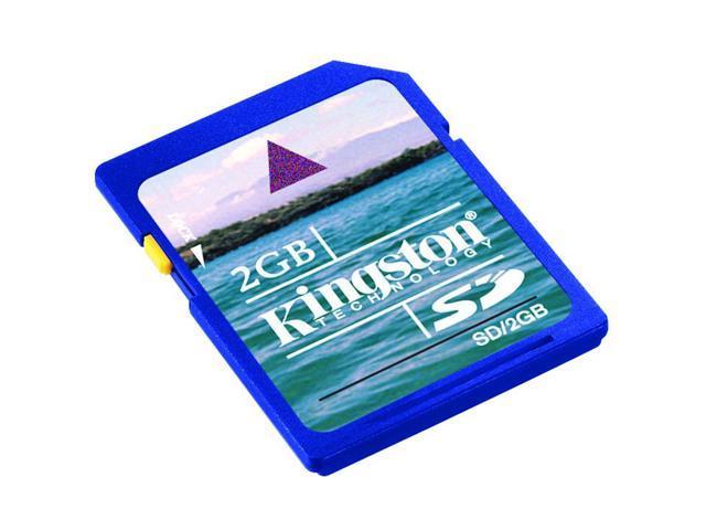 Kingston 2GB Secure Digital (SD) Flash Card Model SD/2GB