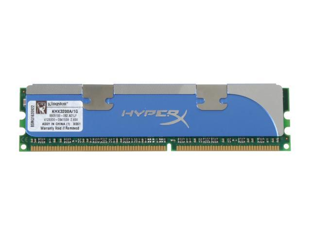 Kingston HyperX 1GB 184-Pin DDR SDRAM DDR 400 (PC 3200) Desktop Memory Model KHX3200A/1G