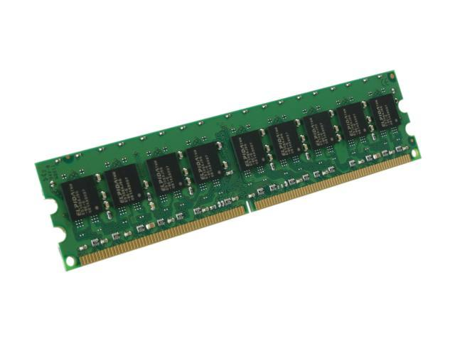 Kingston 1GB 240-Pin DDR2 SDRAM ECC Unbuffered DDR2 800 (PC2 6400) Server Memory Model KVR800D2E5/1G