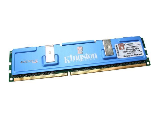 Kingston HyperX 512MB 240-Pin DDR3 SDRAM DDR3 1375 (PC3 11000) Desktop Memory Model KHX11000D3LL/512
