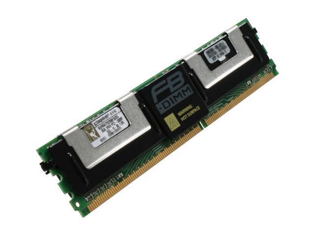 Kingston ValueRAM 2GB ECC Fully Buffered DDR2 667 (PC2 5300) Server Memory Model KVR667D2D8F5/2G