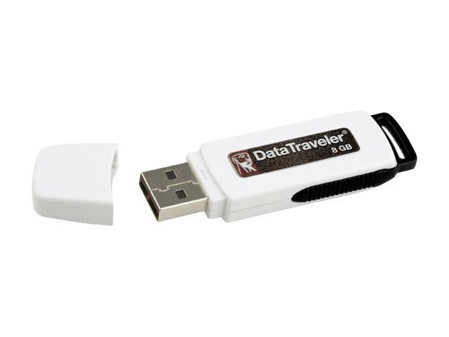 Kingston DataTraveler 8GB USB 2.0 Flash Drive Model DTI/8GB