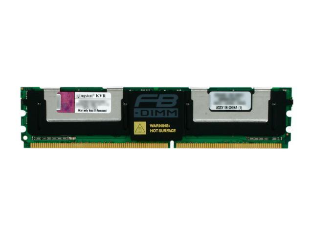 Kingston ValueRAM 8GB ECC Fully Buffered DDR2 667 (PC2 5300) Server Memory Model KVR667D2D4F5/8G