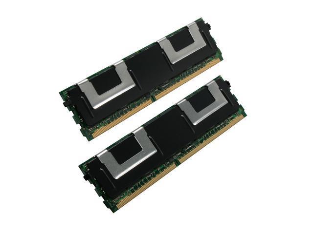 Kingston 16GB (2 x 8GB) ECC Fully Buffered DDR2 667 (PC2 5300) Dual Channel Kit Server Memory Model KVR667D2D4F5K2/16G