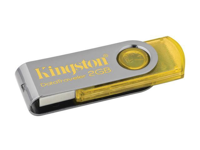 Kingston DataTraveler 101 2GB USB 2.0 Flash Drive (Yellow)