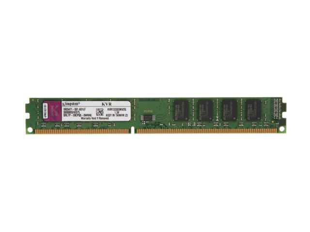 Kingston ValueRAM 2GB 240-Pin DDR3 SDRAM DDR3 1333 (PC3 10600) Desktop Memory Model KVR1333D3N9/2G
