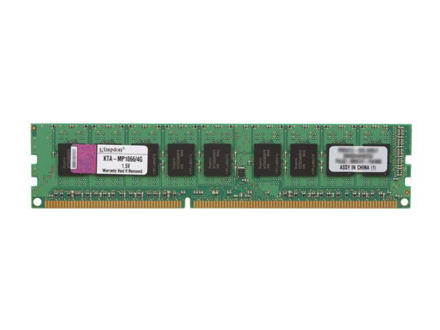 Kingston 4GB DDR3 1066 (PC3 8500) ECC Mac Memory Module w/ Thermal Sensor Model KTA-MP1066/4G