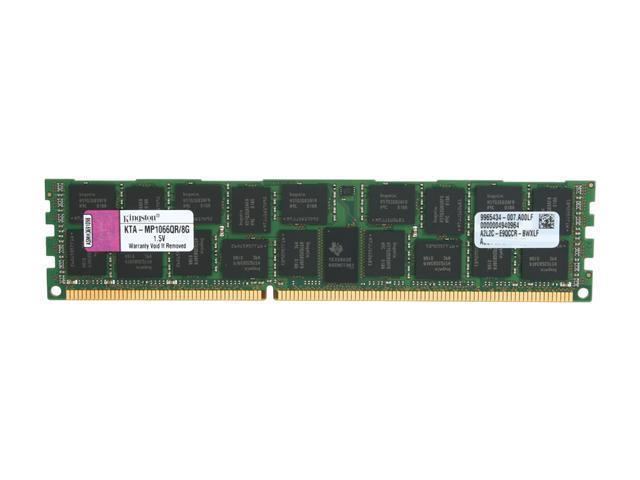Kingston 8GB 240-Pin DDR3 SDRAM DDR3 1066 (PC3 8500) Memory for Apple Server with Thermal Sensor Model KTA-MP1066QR/8G