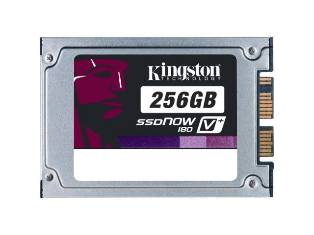 "Kingston SSDNow V+ 180 1.8"" 256GB SATA II MLC Internal Solid State Drive (SSD) SVP180S2/256G"