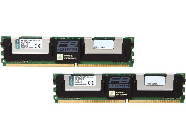 Kingston 16GB (2 x 8GB) 240-Pin DDR2 SDRAM System Specific Memory Model KTS-SESK2/16G