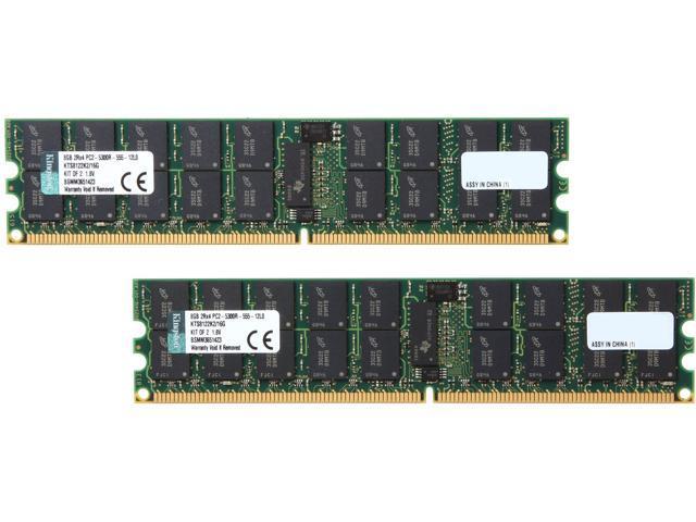 Kingston 16GB (2 x 8GB) 240-Pin DDR2 SDRAM System Specific Memory Model KTS8122K2/16G