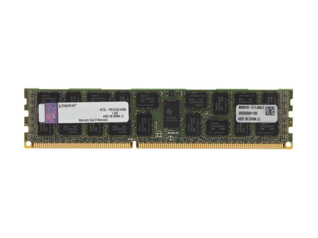 Kingston 8GB 240-Pin DDR3 SDRAM DDR3 1333 ECC Registered System Specific Memory Model KTD-PE313LV/8G