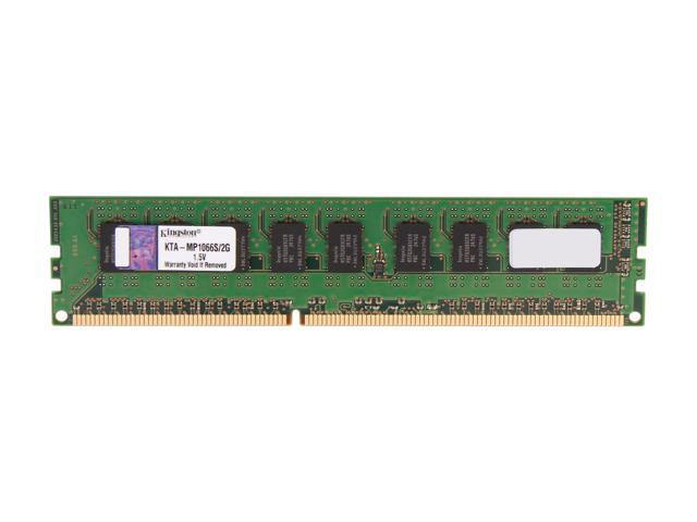 Kingston 2GB 240-Pin DDR3 SDRAM DDR3 1066 Memory for Apple Model KTA-MP1066S/2G