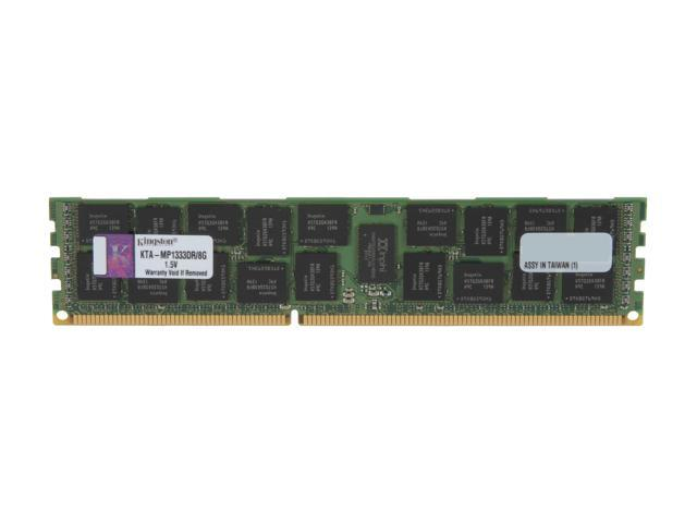 Kingston 8GB 240-Pin DDR3 SDRAM DDR3 1333 Memory for Apple with thermal sensor Model KTA-MP1333DR/8G