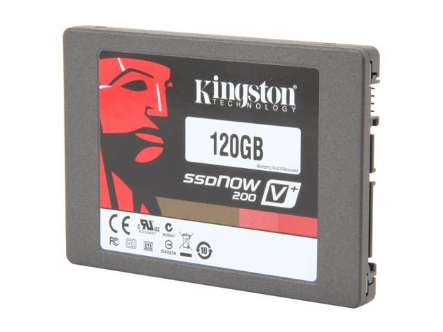 "Kingston SSDNow V+200 2.5"" 120GB SATA III Internal Solid State Drive (SSD)  (Stand-alone Drive) SVP200S3/120G"