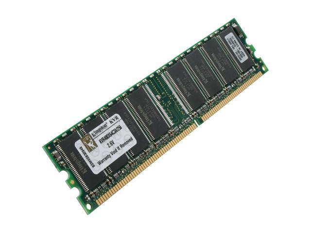 Kingston ValueRAM 256MB 184-Pin DDR SDRAM DDR 400 (PC 3200) System Memory Model KVR400X64C3A/256