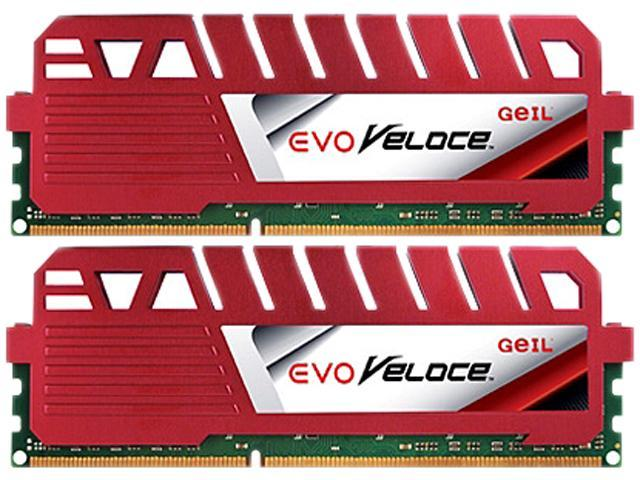 GeIL 8GB (2 x 4GB) 240-Pin DDR3 SDRAM DDR3 1866 (PC3 14900) Desktop Memory Model GEV38GB1866C10DC