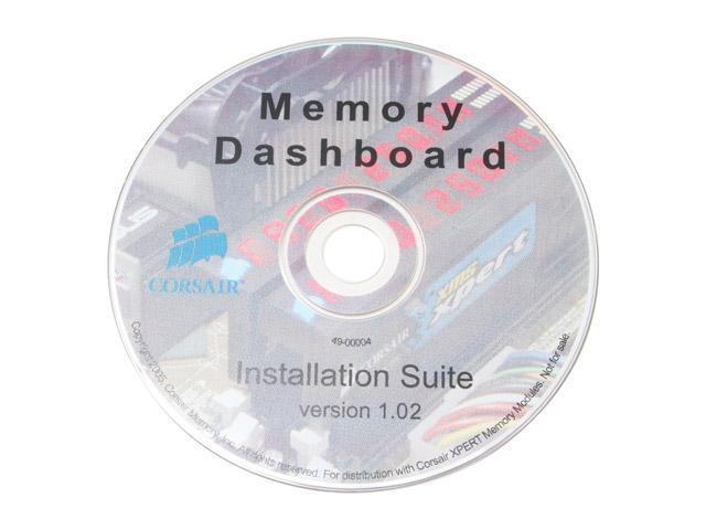 CORSAIR XMS 2GB (2 x 1GB) 184-Pin DDR SDRAM DDR 400 (PC 3200) Dual Channel Kit Desktop Memory Model TWINXP2048-3200C2