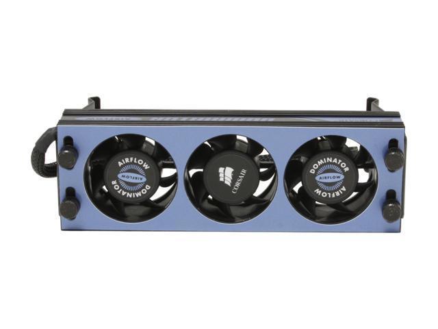 CORSAIR Dominator 2GB (2 x 1GB) 240-Pin DDR2 SDRAM DDR2 1250 (PC2 10000) Dual Channel Kit Desktop Memory Model TWIN2X2048-10000C5DF