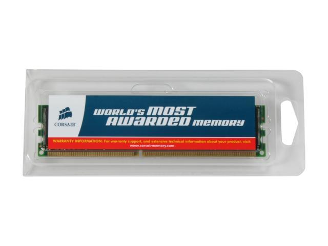 CORSAIR 1GB 184-Pin DDR SDRAM ECC Registered DDR 266 (PC 2100) Server Memory Model CM72SD1024RLP-2100