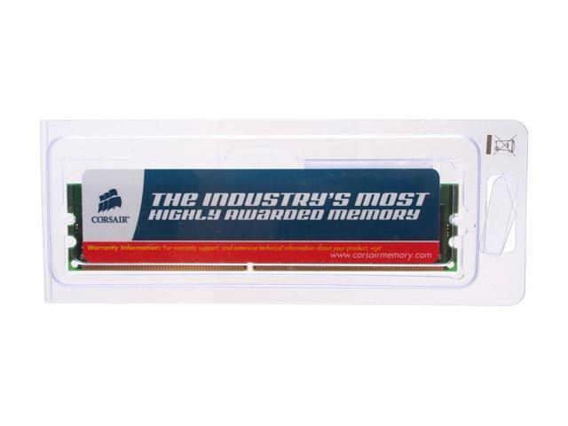 CORSAIR 1GB 240-Pin DDR2 SDRAM ECC Registered DDR2 400 (PC2 3200) Server Memory Model CM73DD1024R-400