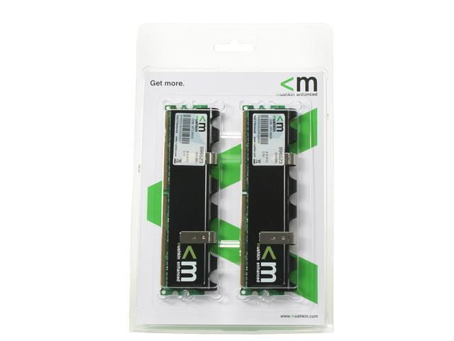 Mushkin Enhanced Extreme Performance 2GB (2 x 1GB) 240-Pin DDR2 SDRAM DDR2 800 (PC2 6400) with EPP Profile Dual Channel Kit Desktop Memory Model 996523