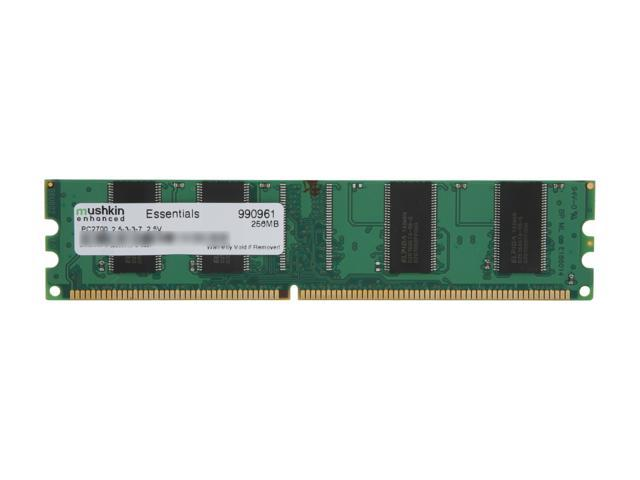 Mushkin Enhanced Green 256MB 184-Pin DDR SDRAM DDR 333 (PC 2700) System Memory Model 990961
