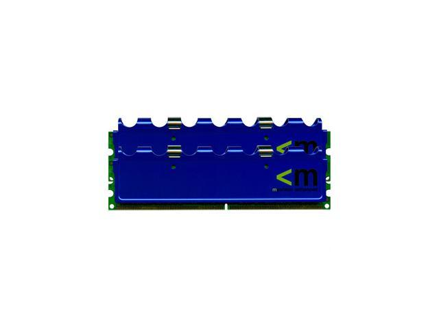 Mushkin Enhanced Blackline 2GB (2 x 1GB) 184-Pin DDR SDRAM DDR 400 (PC 3200) Dual Channel Kit Desktop Memory Model 991434