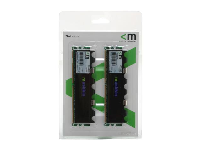Mushkin Enhanced Extreme Performance 2GB (2 x 1GB) 240-Pin DDR2 SDRAM DDR2 1066 (PC2 8500) with EPP Profile Dual Channel Kit Desktop Memory Model 996535