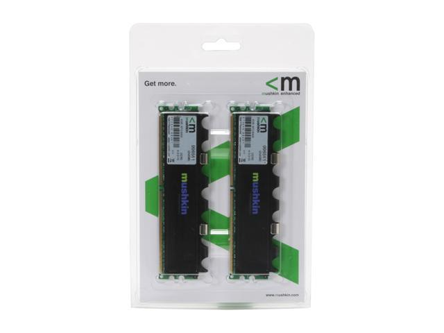 Mushkin Enhanced 4GB (2 x 2GB) 240-Pin DDR2 SDRAM DDR2 800 (PC2 6400) Dual Channel Kit Desktop Memory Model 996561