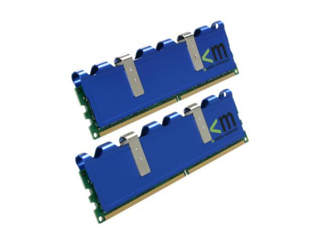 Mushkin Enhanced Blackline 4GB (2 x 2GB) 240-Pin DDR2 SDRAM DDR2 800 (PC2 6400) Dual Channel Kit Desktop Memory Model 996587