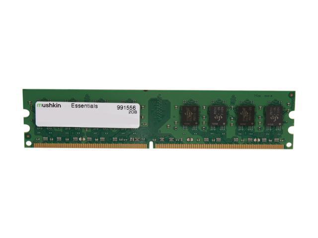 Mushkin Enhanced 2GB 240-Pin DDR2 SDRAM DDR2 667 (PC2 5300) Desktop Memory Model 991556
