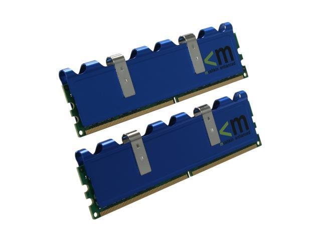 Mushkin Enhanced Blackline 2GB (2 x 1GB) 240-Pin DDR2 SDRAM DDR2 800 (PC2 6400) Dual Channel Kit Desktop Memory Model 996603