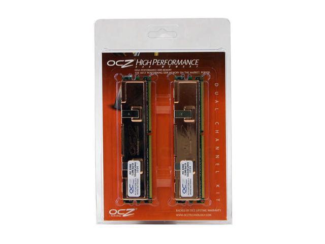 OCZ Enhanced Latency 1GB (2 x 512MB) 184-Pin DDR SDRAM DDR 400 (PC 3200) Dual Channel Kit System Memory Model OCZ4001024ELDC-K