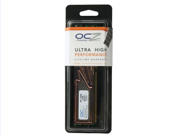 OCZ Revision 3 512MB 184-Pin DDR SDRAM DDR 400 (PC 3200) Desktop Memory Model OCZ400512R3