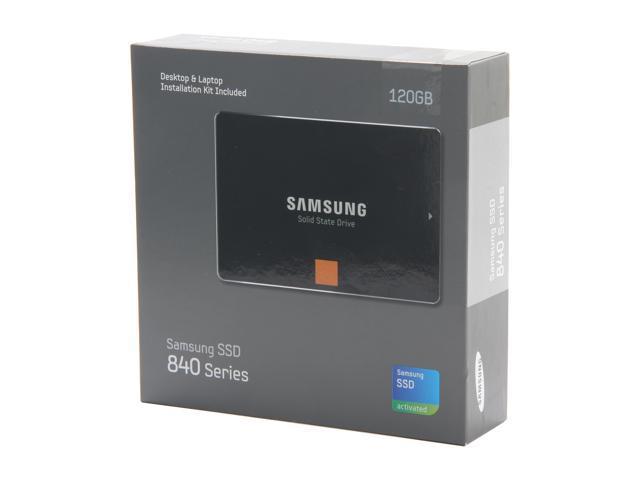 """SAMSUNG 840 Series 2.5"""" 120GB SATA III Internal Solid State Drive (SSD) MZ-7TD120KW"""