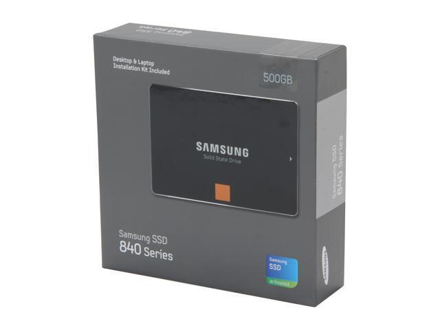 """SAMSUNG 840 Series 2.5"""" 500GB SATA III Internal Solid State Drive (SSD) MZ-7TD500KW"""