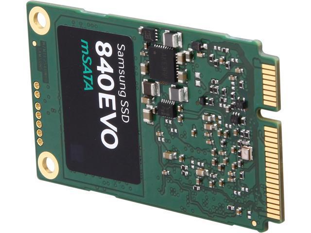 SAMSUNG 840 EVO MZ-MTE250BW mSATA 250GB SATA III TLC Internal Solid State Drive (SSD)